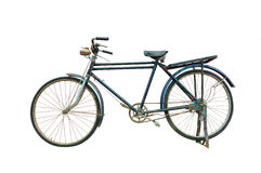 Antique bicycle. Royalty Free Stock Photography