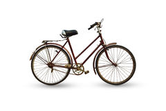 Antique bicycle Royalty Free Stock Photography