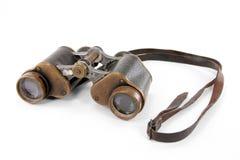 Antique binoculars Stock Photos