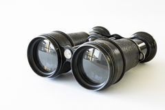 Antique binoculars Royalty Free Stock Photography