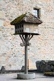 Antique bird house Royalty Free Stock Image