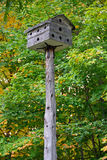 Antique bird house Royalty Free Stock Photography