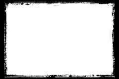 Antique black grunge border. Digitally created detailed grunge border Stock Photo