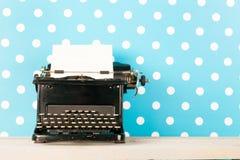 Antique black typewriter Royalty Free Stock Photo