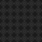 Antique black wallpaper. Seamless antique black wallpaper background Royalty Free Stock Photography