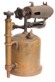 Antique blowtorch Royalty Free Stock Image