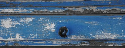 Antique blue paint Royalty Free Stock Photography
