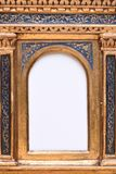 Antique Bold Frame. With White Background Stock Photos