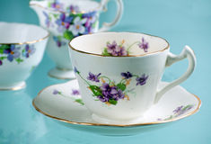 Antique bone china Stock Photography