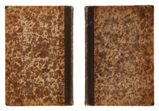 Antique Book - Back and Front Side Stock Photography