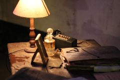 Antique, Book, Bottle royalty free stock photo