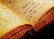 Antique, Book, Close-up royalty free stock photo