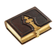 Antique book with golden decoration Royalty Free Stock Photography