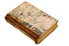Antique book isolated Stock Images