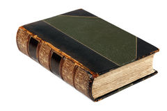 Antique Book Isolated Royalty Free Stock Photo