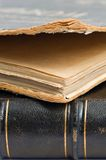 Antique book with leather cover. Stock Images