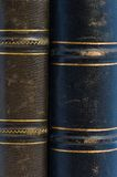 Antique book with leather cover. Royalty Free Stock Images