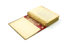 Antique book opened Royalty Free Stock Photography