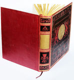 Antique book opened Royalty Free Stock Image
