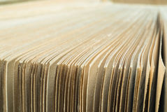 Antique book pages Royalty Free Stock Images