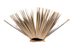 Antique book's pages Royalty Free Stock Photo