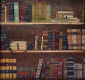 Antique book on a shelf Stock Image