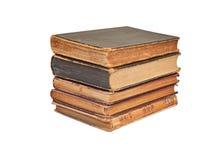Antique book stack Royalty Free Stock Photos