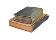 Antique book stack Royalty Free Stock Image