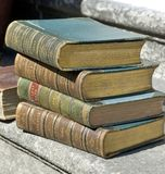 Antique Books Stock Photos