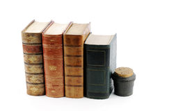 Antique books Royalty Free Stock Photography
