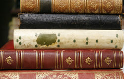 Antique books Royalty Free Stock Images