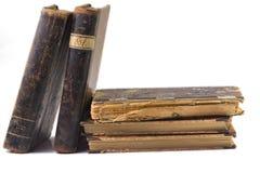 Antique books Stock Image
