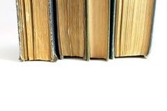 Antique Books. Beautiful antique books isolated on white background Stock Image