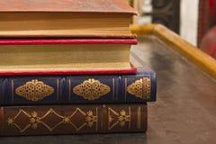 Antique Books Stock Photography