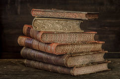 Antique books 2 Stock Photos