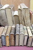 Antique books. Old books, detail some old books to read, art and history of literature Royalty Free Stock Images