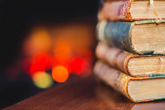 Antique books Royalty Free Stock Image
