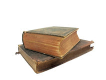 Antique books stacked Royalty Free Stock Photography