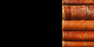 Antique books theme Royalty Free Stock Images