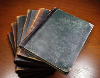 Antique books Royalty Free Stock Photos