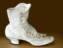 Antique Boots Royalty Free Stock Photos