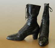 Antique Boots Royalty Free Stock Image