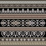 Antique borders for your design Royalty Free Stock Photos