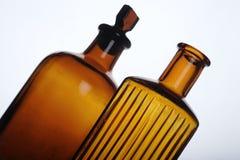 Antique bottles Stock Image