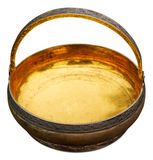 Antique bowl gilding inside Stock Photography