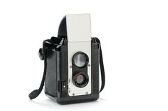 Antique box camera Stock Image