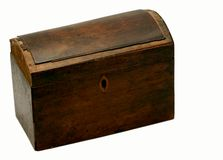 Antique box - closed Stock Image