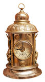 Antique brass clock Stock Photo