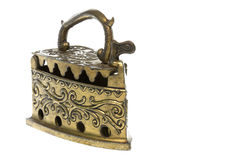 Antique Brass Iron Royalty Free Stock Images