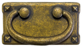 Antique Brass Pull Stock Image